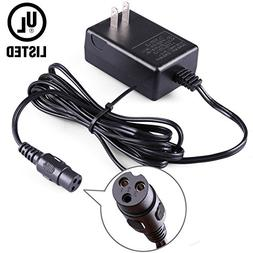 LotFancy 24V 0.6A Scooter Battery Charger for Razor E100, E1