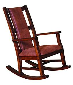 Sunny Designs 1935DC Santa Fe Rocker with T-Fabric Seat and