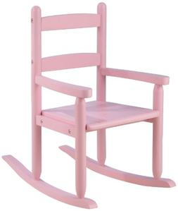 2-SLAT ROCKING CHAIR PINK
