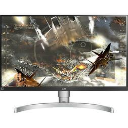 "LG 27UK650-W 27"" 4K UHD IPS Monitor with HDR10 and AMD FreeS"
