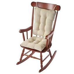 2PC. Padded Rocking Chair Cushion Set
