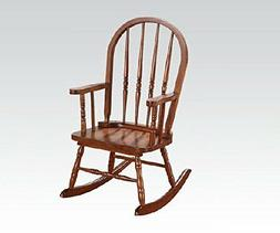 Acme Furniture 59215 Kloris Youth Rocking Chair, Tobacco
