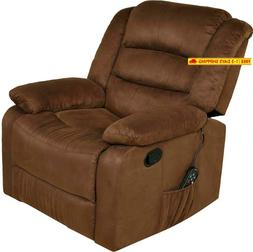Relaxzen 60-701011M Massage Rocker Recliner with Heat and US