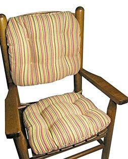Child Rocking Chair Cushions - Indoor / Outdoor: Fade Resist
