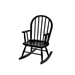 Gift Mark Children's Windsor Rocking Chair, Espresso