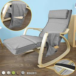 Haotian Comfortable Relax Rocking Chair, Gliders,Lounge Chai