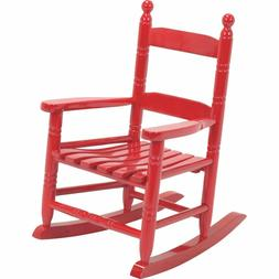 Knollwood Children's Rocking Chair - Finish: Red