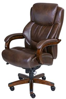 La-z Boy - Big & Tall Bonded Leather Executive Chair - Chest