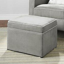Baby Relax The Abby Nursery Storage Ottoman for Baby Gliders