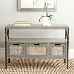 Safavieh American Homes Collection Joshua French Grey 3-Draw
