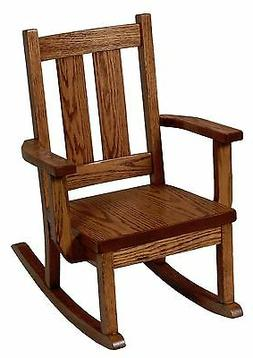 Amish Kids Toddler Rocking Chair Mission Arts & Crafts Solid