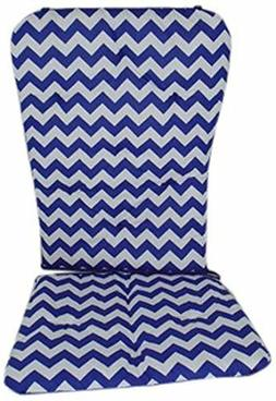 Baby Doll Bedding Chevron Rocking Chair Pad, Plum