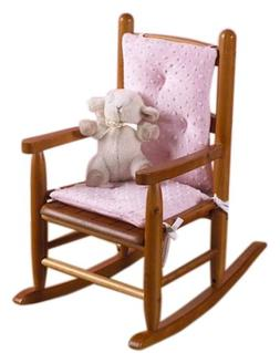 Baby Doll Bedding Heavenly Soft CHILD Rocking Chair Cushion
