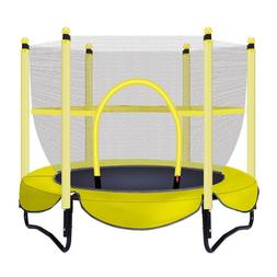 baby indoor small bounce bed home kids with mesh trampolineJ