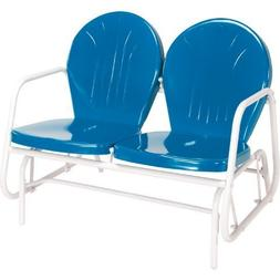 Jack Post BH-10BL Retro Glider, Blue by Jensen Distributing