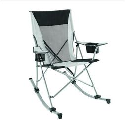 Camping Rocking Chair Portable Folding Compact Steel Frame w