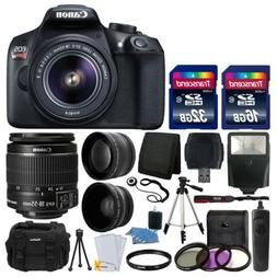 Canon EOS Rebel T6 Digital SLR Camera with 18 55mm EF S f 3.
