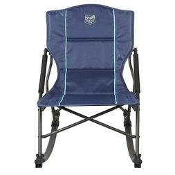 catalpa relax and rock chair blue