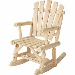 CedarFir Rocking Chair - Where Worries Take a Break