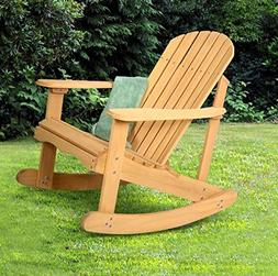 K&A Company Chair Outdoor Adirondack Rocking Deck Garden Fur