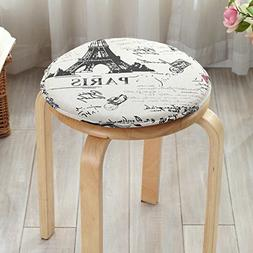 LJ&XJ Children Seat Cushion, Round Sponge Dining chairs pads