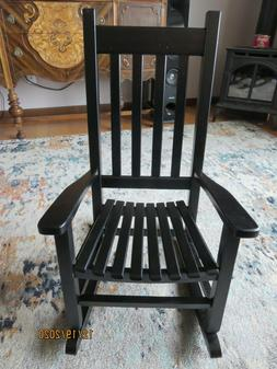 Children's Rocking Chair By Garden Treasures In Black