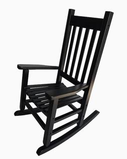 childrens rocking chair by in black
