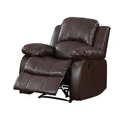classic bonded leather recliner chair