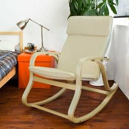 Haotian Comfortable Relax Rocking Chair, Lounge Chair Relax
