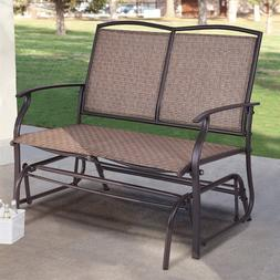 Costway Patio Glider <font><b>Rocking</b></font> Bench Doubl