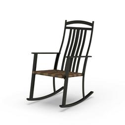 Deluxe Outdoor High Back Rocking Chair Beautiful Furniture D