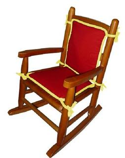 doll solid reversible rocking chair