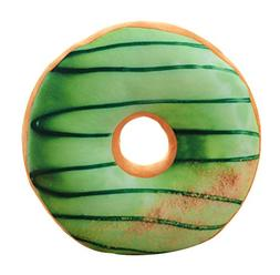Doughnut Stuffed Plush Throw Pillow Seat Back Cushion Stuffi