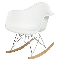 Best Choice Products Eames RAR Style Modern Mid-Century Rock