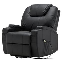 TANGKULA Electric Lift Power Recliner Chair Heated Massage S