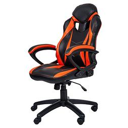 Merax PP033237 Ergonomic Racing Style PU Leather Gaming Chai