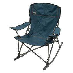 Folding Rocking Chair Camping Rocker Porch Outdoor Furniture