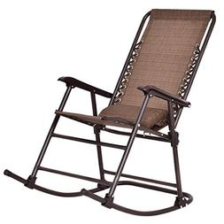 folding rocking chair porch patio