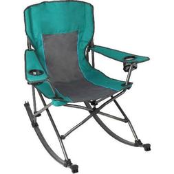 Folding Rocking Chair with Cup Holders,carrying case include