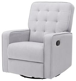 Delta Children Gavin Nursery Glider Swivel Recliner Featurin