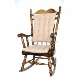 Trenton Gifts 2 Piece Padded Rocking Chair Cushion Set - Bei