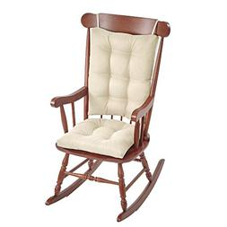 Klear Vu Omega Non-Slip Rocking Chair Pad Set with Seat and