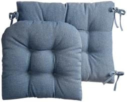 Klear Vu Gripper Jumbo Saturn Rocking Chair Cushion Set, Blu