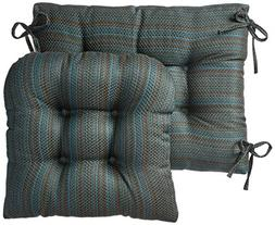 Klear Vu Gripper Jumbo Scion Rocking Chair Cushion Set, Aqua
