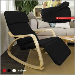 Sobuy Haotian Comfortable Relax Rocking Chair With Foot Rest