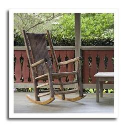 3dRose ht_89336_1 Georgia, Pine Mountain. Rocking Chair, Por