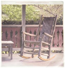 3dRose ht_89336_3 Georgia, Pine Mountain. Rocking chair, Por