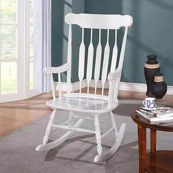 Kloris Collection Transitional Living Room Rocking Chair Woo