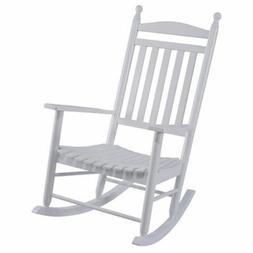 Knollwood Rocker in Natural - Finish: White