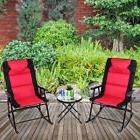 3 pcs outdoor folding rocking chair table